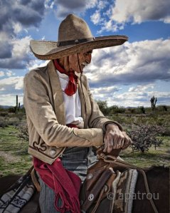 A typical Mexican/American Vaquero (click the photo to enlarge)